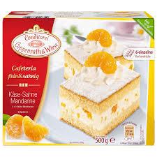 coppenrath wiese käse sahne mandarinen blechkuchen 500g