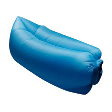 canap gonflable bleu rapide gonflable canapé air sommeil cing sofa tissu