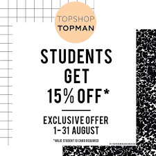 How Much Is Topshop Student Discount : Best Deals Spanx Coupon Code November 2019 Hobby Master Newport Cigarettes Codes Tshop Coupon Promo Codes October 20 Off Lowes Coupons And Discounts Kia For Brakes Off Hudsons Bay Coupons Sales Nhs Discount List Discount The Resort On Singer Island Namshi Code Upto 70 Uae Buy Designer Handbags Online Uk Cool Contacts How To Get Magic Promo Pacsun In Store Eatigo Hk200 Voucher Oct Hothkdeals Moosejaw 2018 Free Digimon