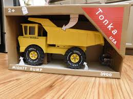 Tonka Truck Replica Packaging - The Junk Man's Adventures
