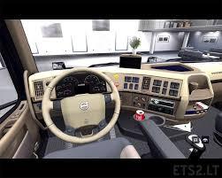 100 Truck Interior Parts Retextured Interior Volvo VNL64 T 780 ETS 2 Mods