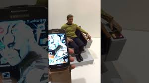 Star Trek Captains Chair by Star Trek 1 6 Tos Chair With Qmx Kirk Youtube