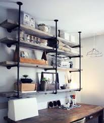 Wood Shelves Diy by How To Build Diy Industrial Galvanized Pipe Shelves Pipes