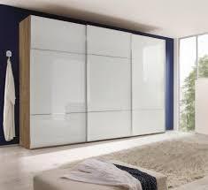 nolte möbel schwebetürenschrank marcato 2 3 mit fronten aus weißglas breite 300 cm kaufen otto