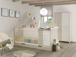 photo chambre bebe chambre bébé lit évolutif tiroir armoire finition