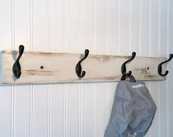 Decorative Clothes Rack Australia by Wall Coat Rack Etsy