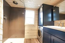The Mansions Bathroom Has Enough Room For A Washer Dryer Combo