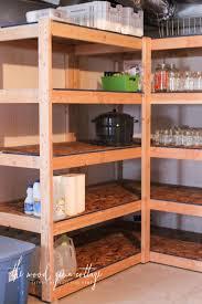 Wood Shelves Diy by Diy Basement Shelving The Wood Grain Cottage