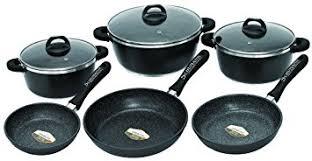 schumann professionnel sba2201300 black rock cooking utensil set