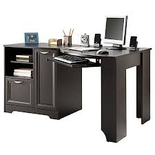 realspace magellan collection corner desk espresso by office depot
