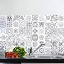carrelage cuisine mosaique 60 stickers adhésifs carrelages sticker autocollant carrelage