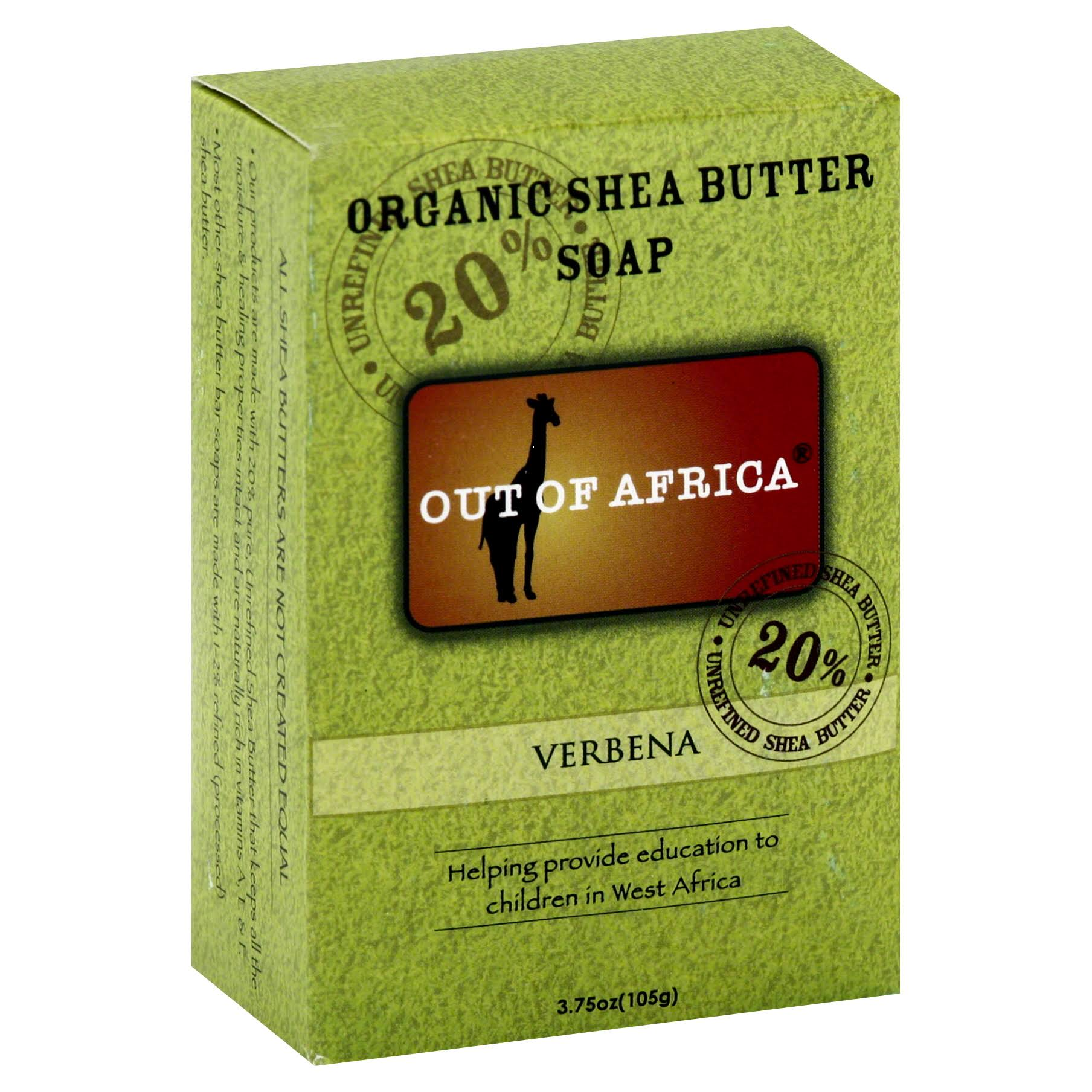 Out Of Africa Pure Shea Butter Bar Soap - Verbena