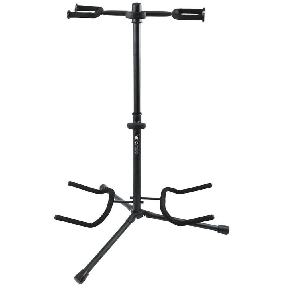 Gator Electronics Frameworks Double Guitar Stand