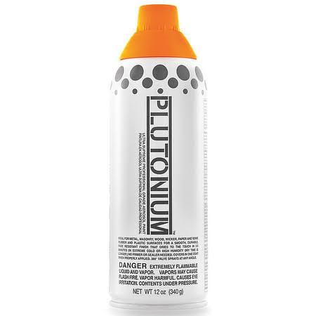 Plutonium Paint Ultra Supreme Professional Aerosol Paint - Basketball