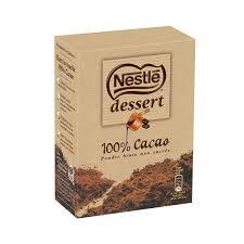chocolat en poudre 100 cacao nestlé dessert nestlé dessert la
