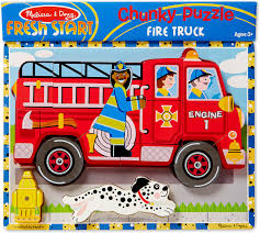 100 Melissa And Doug Fire Truck Puzzle Chunky