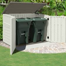 Suncast Horizontal Storage Shed 32 Cu Ft by Furniture Chic Suncast Storage Shed In House Design Made Of Wood