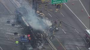 Fiery Big Rig Crash On Highway 281, Hildebrand Causes Traffic...