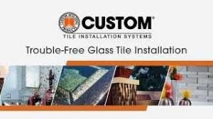 glass tile premium thin set mortar custom building products