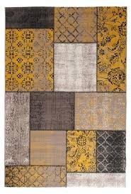 tapiso verse teppich kurzflor modern orient patchwork karo