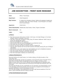 hotel front desk resume sle 100 front desk resume sle