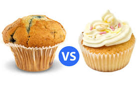 Muffin Vs Cupcake The Conundrumhellip Ndash Confessions Of A Coffee Lover Mushroom Top Flat