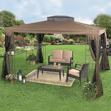 Portable Patio Bar Ideas by Home And Garden Design Ideas Beautiful Rectangular Gazebo With
