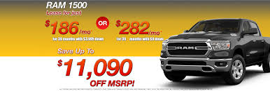 100 Dodge Truck Lease Deals Jeep Chrysler Ram Central Of Norwood Serving The Boston Area