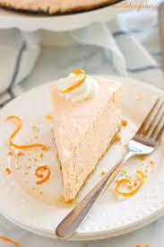 easy no bake dessert recipes no bake orange creamsicle cheesecake the busy baker