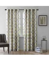 Dkny Mosaic Curtain Panels by Don U0027t Miss These Deals On Yellow Curtain Panels