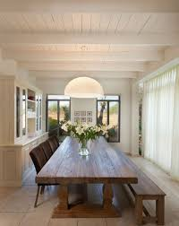 Long Table And Sliding Doors View
