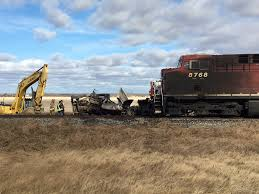 Collision Between CP Train, Semi Truck Reportedly Leaves Driver With ...