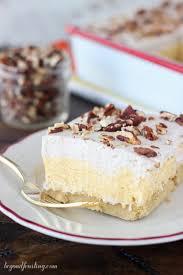 Pumpkin Layer Cheesecake by No Bake Pumpkin Pie Lasagna Beyond Frosting