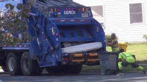 100 Garbage Truck Youtube Leach 2RIII Rear Loader Crushing Mattress YouTube