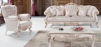 casa padrino luxus barock wohnzimmer set hellgrau weiß antik bronze 2 sofas 2 sessel 1 couchtisch wohnzimmer möbel im barockstil edel