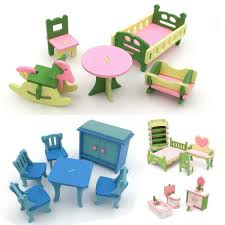 Detail Feedback Questions About 4 Lots Wooden Dolls House Miniature
