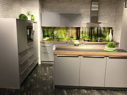 möbel insel küche stylife inkl neff e geräten ca b 186 und 295cm grau xxxlutz