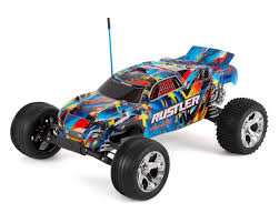 Rustler 1/10 RTR 2WD Electric Stadium Truck (Rock N Roll) By Traxxas ...