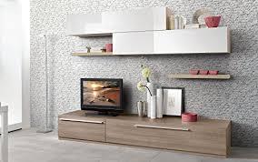 wand wohnzimmer effekt ulme grau weiß hochglanz wohnzimmer cm 270 x 46 x 203