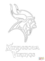 Click The Minnesota Vikings Logo Coloring Pages To View Printable