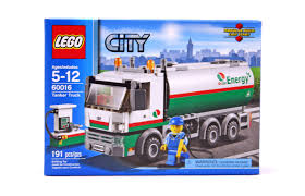 Tanker Truck - LEGO Set #60016-1 (NISB) (Building Sets > City)