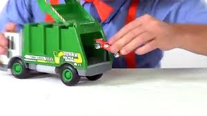 Garbage Trucks For Kids - Recycling And Dumping Trash With Blippi ...