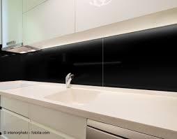 100x70cm glas schwarz echtglas küchenrückwand spritzschutz fliesenspiegel glasplatte rückwand