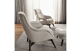 Room And Board Chairs Regarding Henrick Winter Whites Plan 16