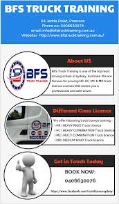 100 Truck Licence BFS Training Is The Best Choice To Get HR License In Sydney
