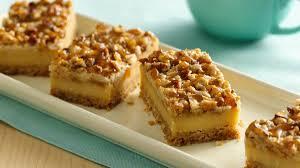 Marbled Pumpkin Cheesecake Bars by Betty Crocker Pumpkin Cheesecake Meknun Com