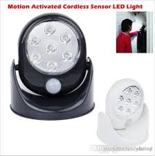 2018 motion sensor led wall lights cordless indoor cabinet light
