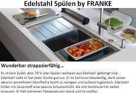 lager franke küchenspüle eurostar etx 610 30 einbauspüle
