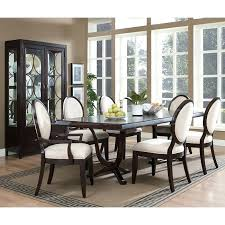 oval dining table and chairs ebay white back snakeskin effect