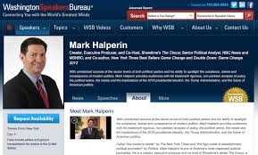 washington speakers bureau halperin s speakers bureau deleted him from its website